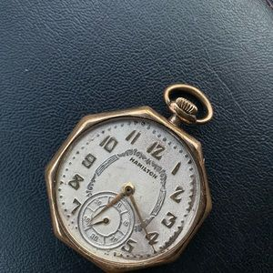 Hamilton 17j 12s Pocket Watch